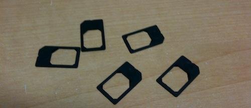 microSIM-adaptor