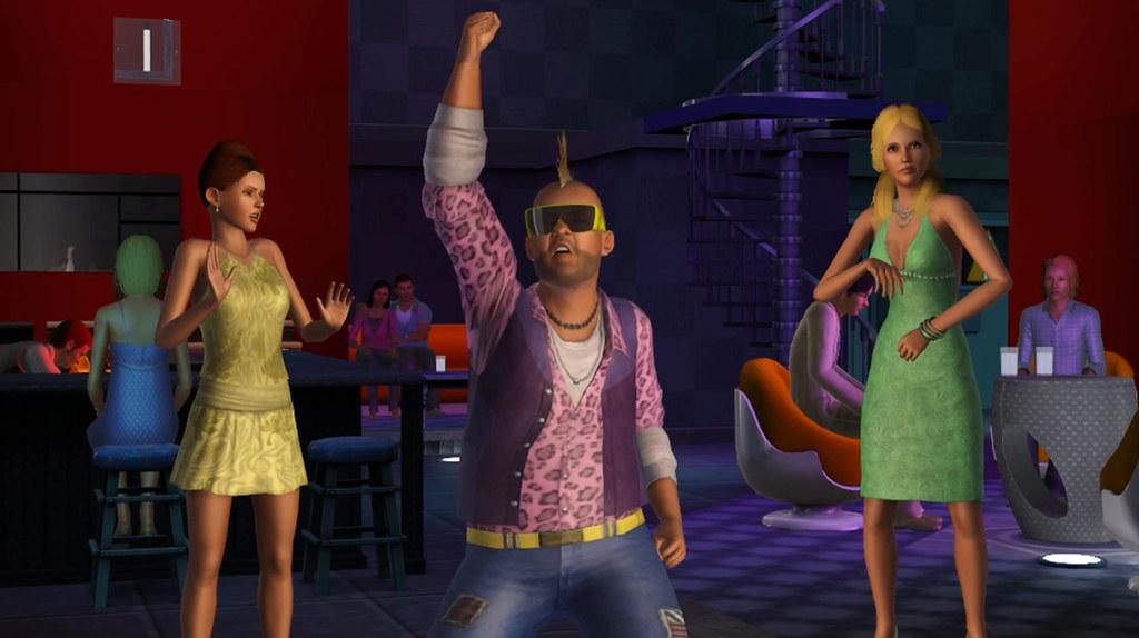 Sims 3 Generations Rocker