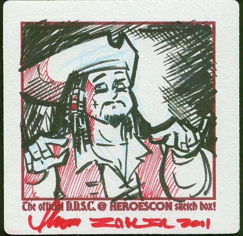 HeroesCon DDSC Zahler -Captain Jack