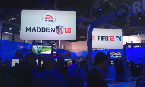 EA booth  E3 2011