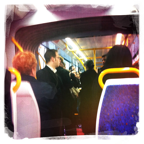 On the tram. Day 204/365.