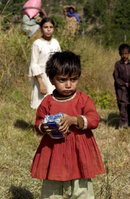 child in pakistan