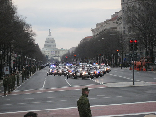 Parade by Presidential Inaugural Committee.