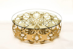 Torus (Mensa) coffee table for Lazerian (Richard Sweeney) Tags: table design geometry structure torus coffeetable plywood richardsweeney lazerian