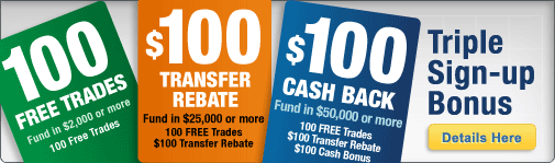 Firstrade Triple-Bonus Sign Up Promotion