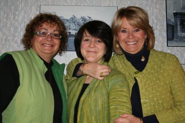Beth, Steph & Pat
