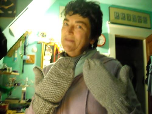 Mum's Silk Mittens