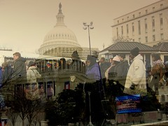 My Last Inauguration Photo (Kurlylox1) Tags: winter people cold lines waiting uscapitol crowds january20 barackobama uspresident inauguration2009 56thinauguration