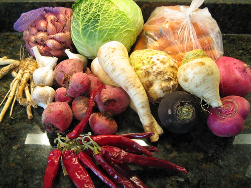 What's in CSA box #19