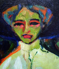 Kirchner, Green Face
