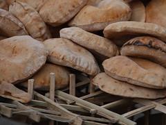 aysh - Egyptian pita bread (Kelly Hyde) Tags: egypt cairo  pitabread aysh egyptianbread