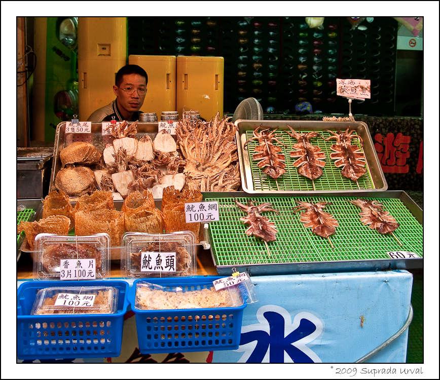 Seafood at Shilin Night Market