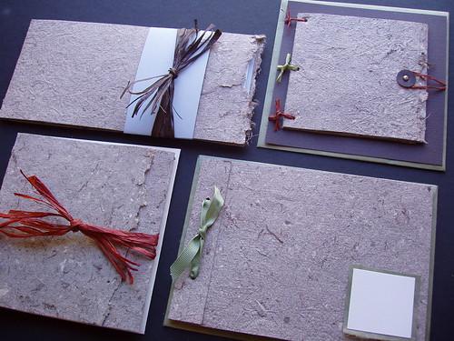 3271333770_08c12c804f flickriver brasspaperclip's photos tagged with weddinginvitations,Handmade Paper Wedding Invitations