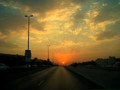 Sunset in Riffa (BinThani*) Tags: sunset