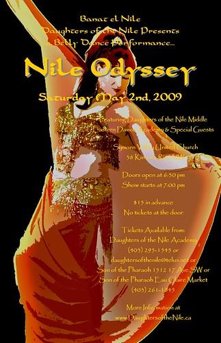 Nile Odyssey - May 2, 2009: Calgary, AB