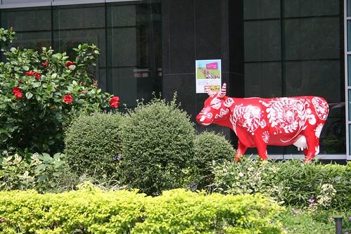 台北奔牛節之富邦牛