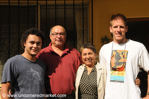 Our Adopted Family in Guatemala City