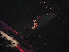 suspended in air (_melika_) Tags: concert circus orangecounty britney britneyspears stunts anaheimca suspendedinair hondacenter
