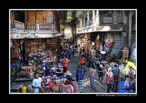 Ubud, Bali - The Market in the morning