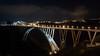 Ponte Morandi / Viadoto Bisantis - Catanzaro (Viditu) Tags: bridge light italy night italia traffic rotonda tunnel ponte trail luci cz calabria notte lampioni galleria catanzaro tangenziale morandi viadotto scie bisantis traforo 20090404