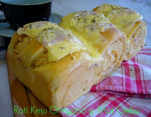 Roti Keju Oregano