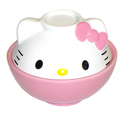 Hello Kitty Small Donburi Bowl (pkoceres) Tags: pink kitchen japan ceramic hellokitty bowl sanrio donburi tableware dishware     boughtonebay