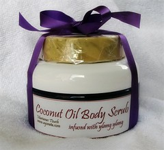 Coconut Oil Body Scrub and Soap Gift Pack