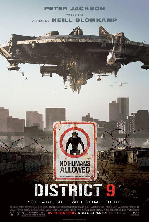 poster Sector 9 Distrito 9