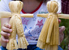 Boy and Girl Corn Husk Doll