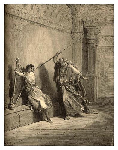 006-Saul y David-Gustave Doré