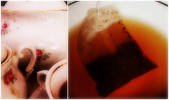 would you like a cup of tea? (trouble*) Tags: orange time tea past ih