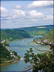 Rhine ... (c-or^^) Tags: rhine rhein loreley weinberge supershot flus mywinners goldstaraward progrockfestival