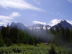 P1010059 (meincalgary) Tags: lake valley larch moraine