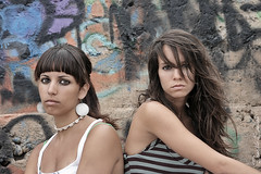 Ms Chicas Malas (Ernesto Santana) Tags: veronica criss minilla