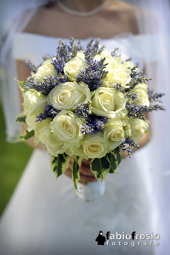 bouquet rose e lavanda