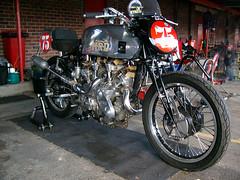 Hrd Vincent III (dalinean) Tags: bike vintage collie 1938 vincent motorbike motorcycle wa racers westernaustralia hrd motorplex