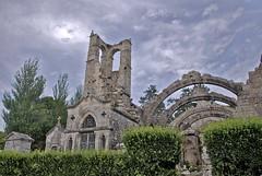 Cielo y Piedra 1 (Too VeiraCasal) Tags: cementerio galicia cambados photoshopcreativo