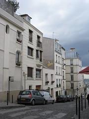 Le chat jaune de Montmartre
