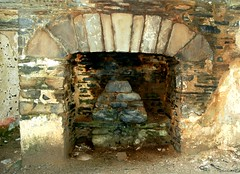 Stone Fireplace (Gaz-zee-boh) Tags: old ireland irish abandoned stone architecture construction fireplace interiors decay traditional cottage livingroom hearth lahinch coclare stonecottage 5photosaday nikond40 irishfireplace almostanything liscannorbay traditonalhearth irishstonecottageinteriors stonedecorativefireplace traditionalirishfireplace hearthirish cottageirishhearth irishfireplaceincottage