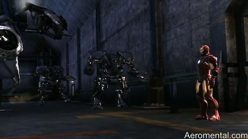 juego Iron Man 2 otros robots