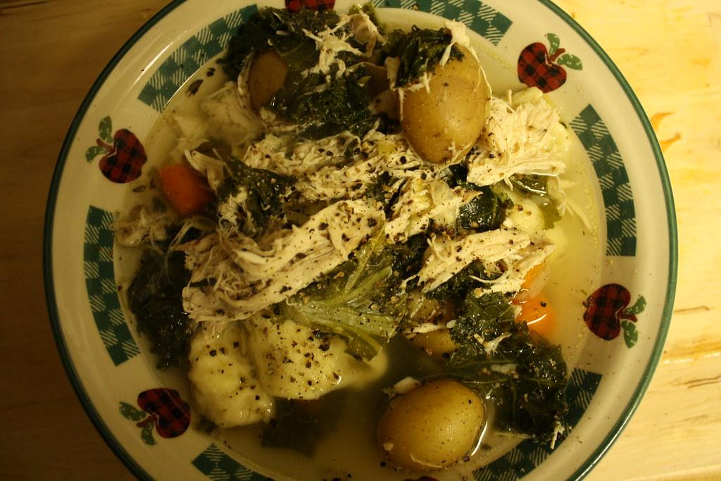 Chicken & Kale Soup