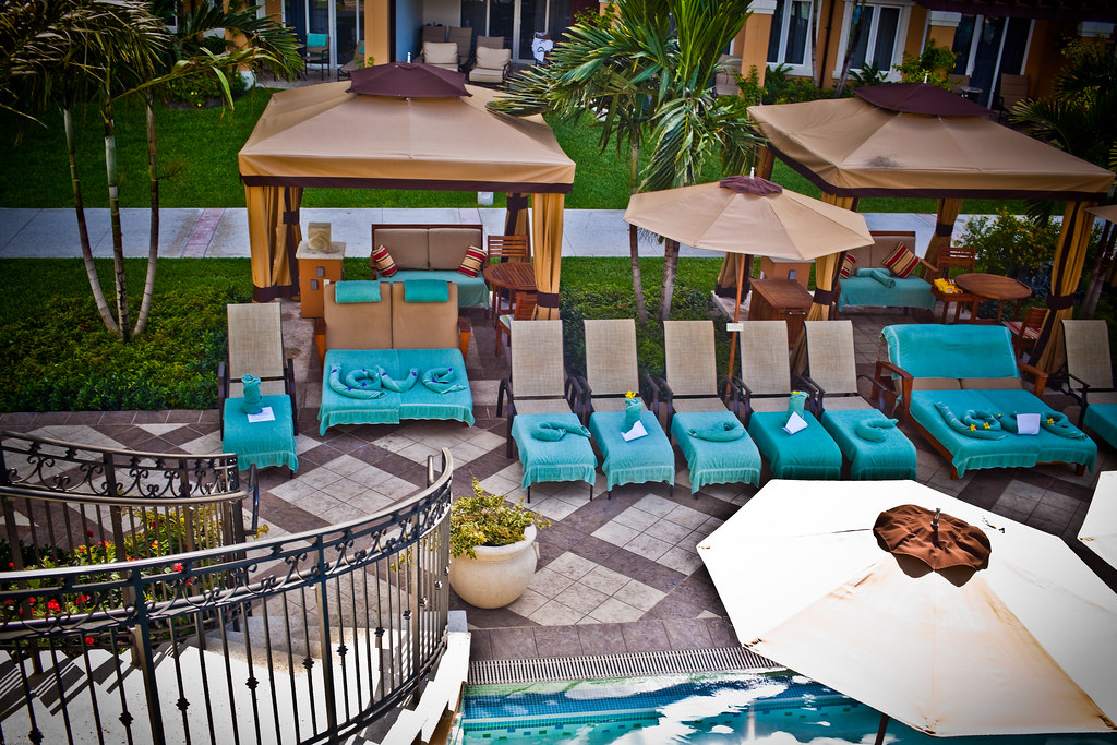 Cabana Love Poolside