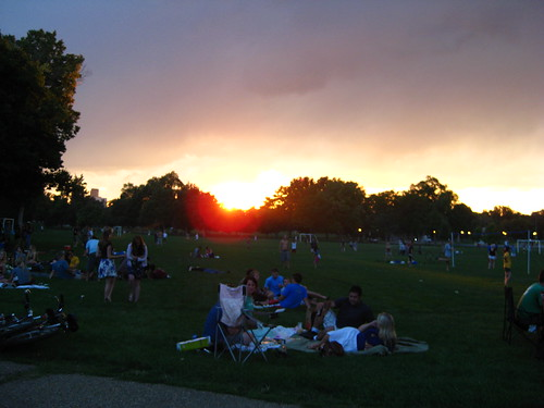 City Park Sunset