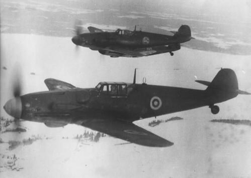 Warbird picture - Messerschmitt Bf 109