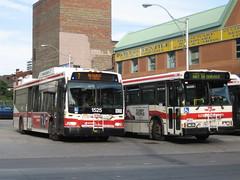 TTC 1525 & TTC 7064 (F. Poon) Tags: new toronto ontario canada bus ttc transit orion hybrid vii orionvii