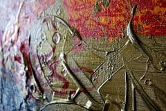 Studio (marciomfr) Tags: world brazil colors painting photography arte rabiscos tag tags 420 canvas calligraphy pernambuco pintura indio nordeste tela tipography petrolina riscos xavante mfr detalhetela marciofr