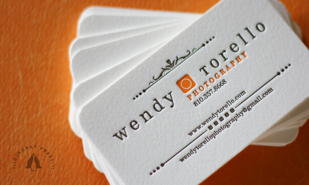 Torello Letterpress Business Cards