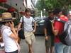 Brainstoriming a Yangshuo con la nostra simpatica guida (Jenny)