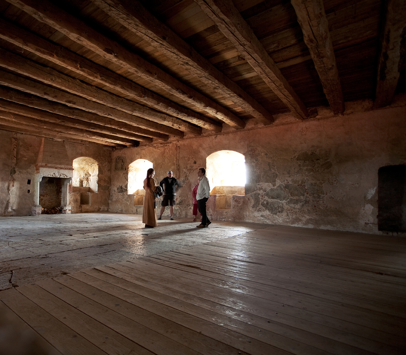 Inside Glimminge Hus