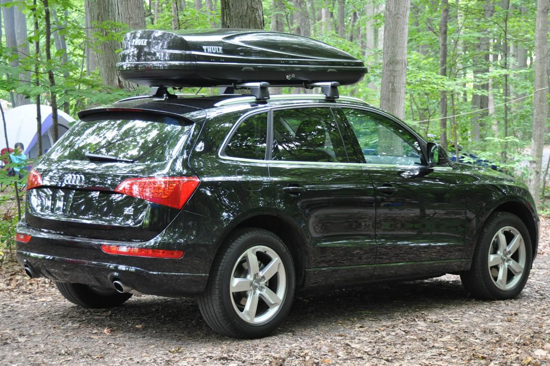 Q3 roof box custom vehicle floor mats